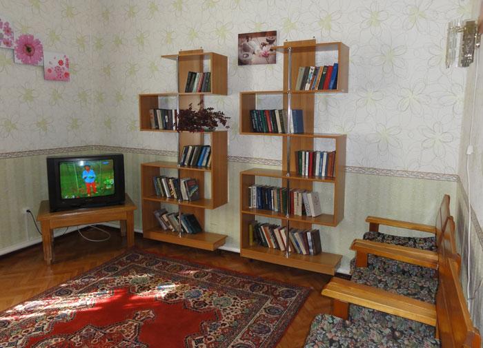 Библиотека Кавалеровского психоневрологического интерната
