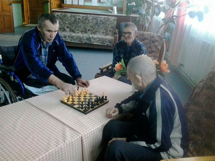 Досуг постояльцев Козловского дома-интерната для престарелых