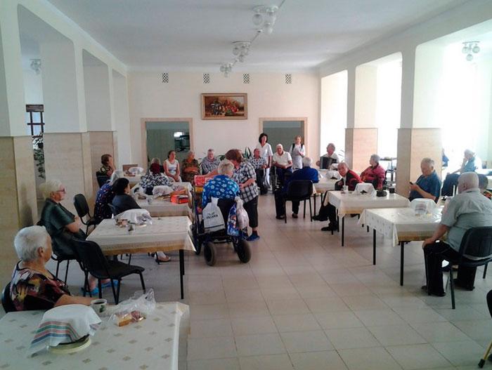 Столовая в Нальчикском доме-интернате