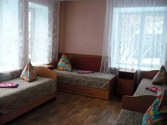 Комната постояльцев Областного центра социальной реабилитации для инвалидов