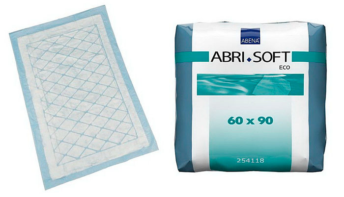 Одноразовые пеленки Abena Abri-Soft Eco