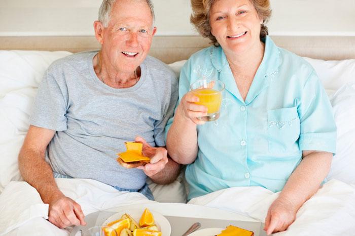 Здоровое питание пожилых