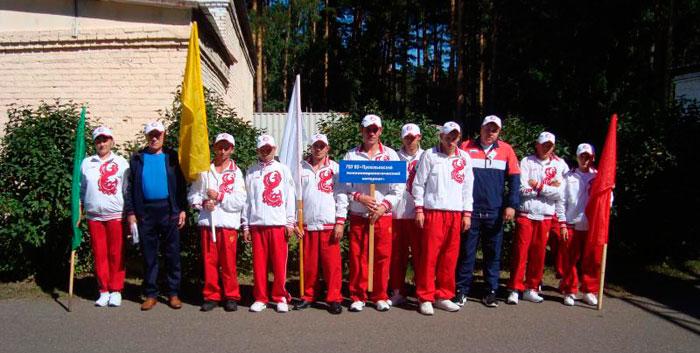 Спортивные мероприятия в Прокопьевском психоневрологическом интернате