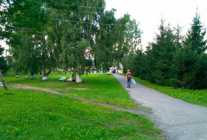 Территория Прокопьевского психоневрологического интерната