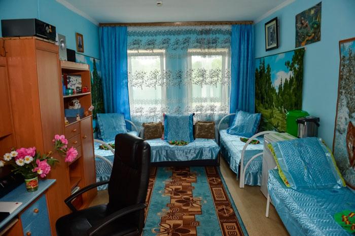 Комната постояльцев Раздольненского психоневрологического интерната