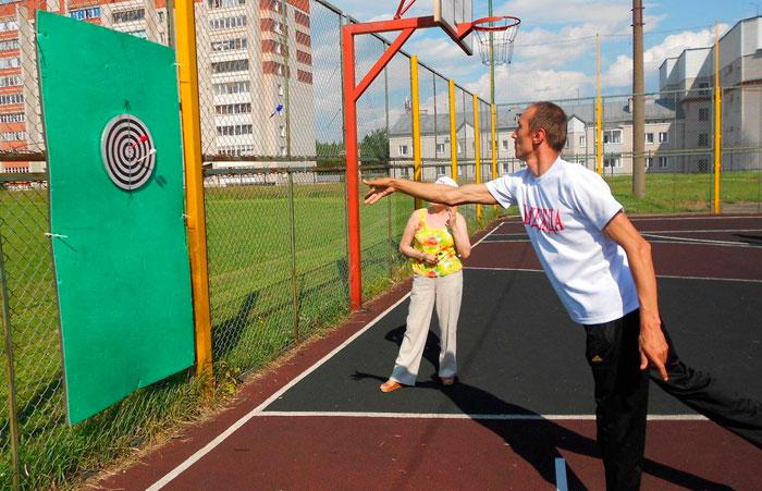 Спортивные мероприятия в Русско-Турекском психоневрологическом интернате