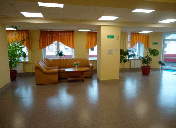 Холл Североморского дома для престарелых