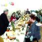 Обед жильцов Свободненского дома для одиноких престарелых «Ветеран»