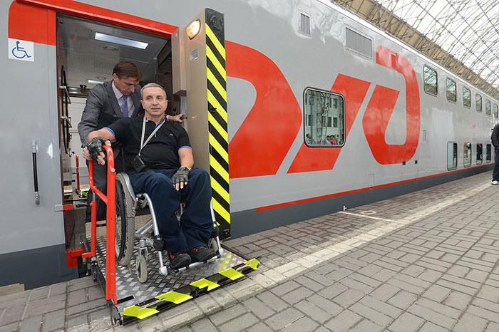 Перевозка инвалидов поездом