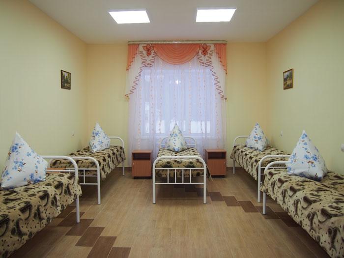 Комната постояльцев Успенского интерната
