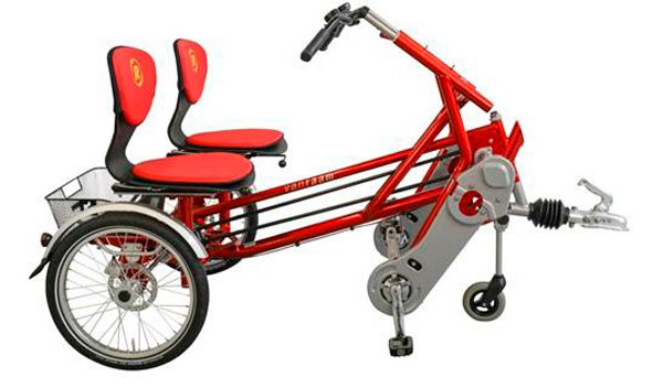 Двухколесный велотрейлер