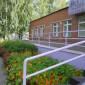 Фасад Юргинского психоневрологического интерната
