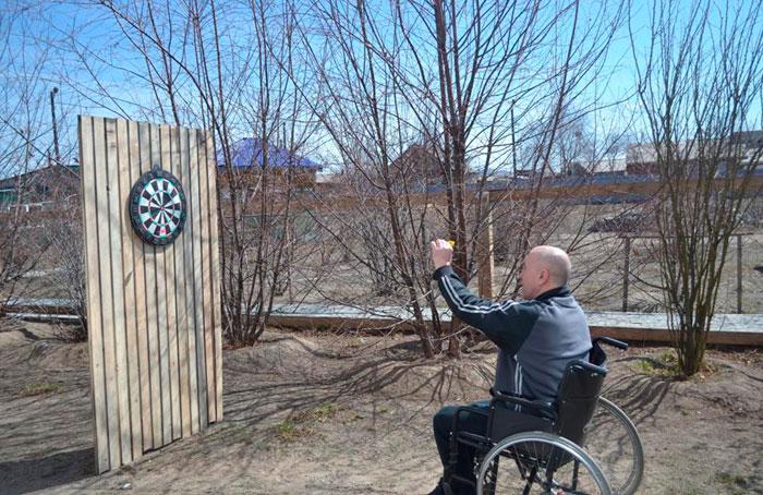 Досуг постояльцев Заиграевского дома-интерната для престарелых и инвалидов