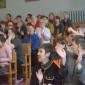 Актовый зал Боровичского психоневрологического интерната «Прошково»