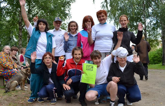 Досуг постояльцев Боровичского психоневрологического интерната «Прошково»