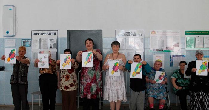 Творчество постояльцев Черноисточинского психоневрологического интерната