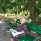 Жильцы Дивенского дома-интерната для престарелых «Дубки»