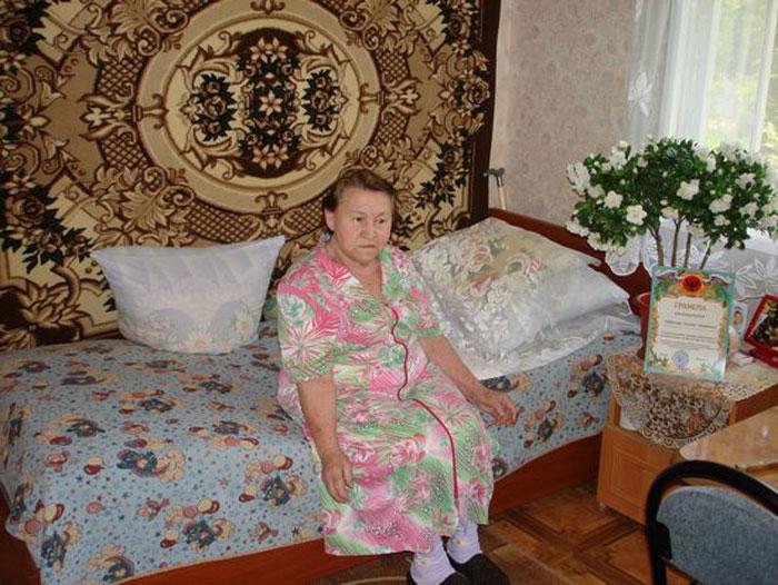 Комната постояльцев Дивенского дома-интерната для престарелых «Дубки»