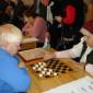 Игра в шахматы жильцов Дивенского дома-интерната для престарелых «Дубки»