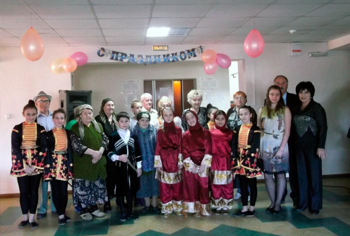 Праздник в Специальном доме для одиноких престарелых