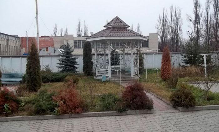 Территория Специального дома для одиноких престарелых