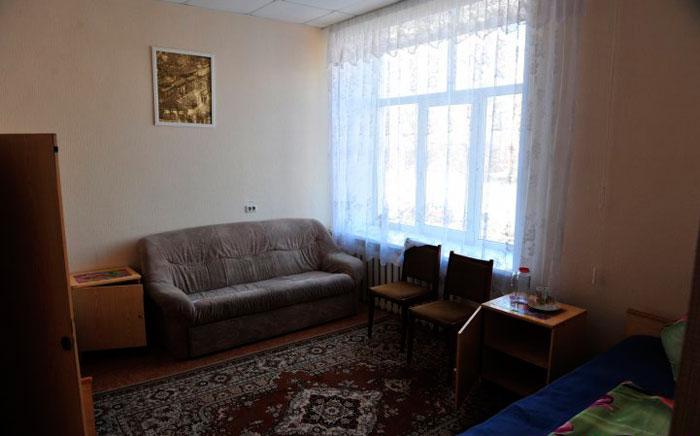 Комната жителей пансионата для ветеранов труда Набережные Челны