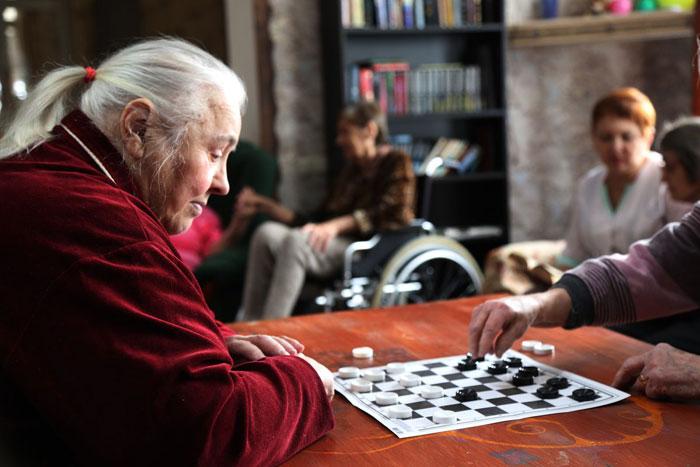 Досуг постояльцев пансионата для пожилых людей «Грушевый сад»
