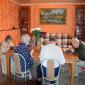 Столовая пансионата для пожилых «Счастье»