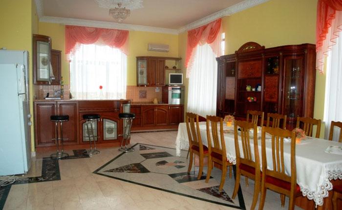 Кухня пансионата «Теплые беседы» Архангельское
