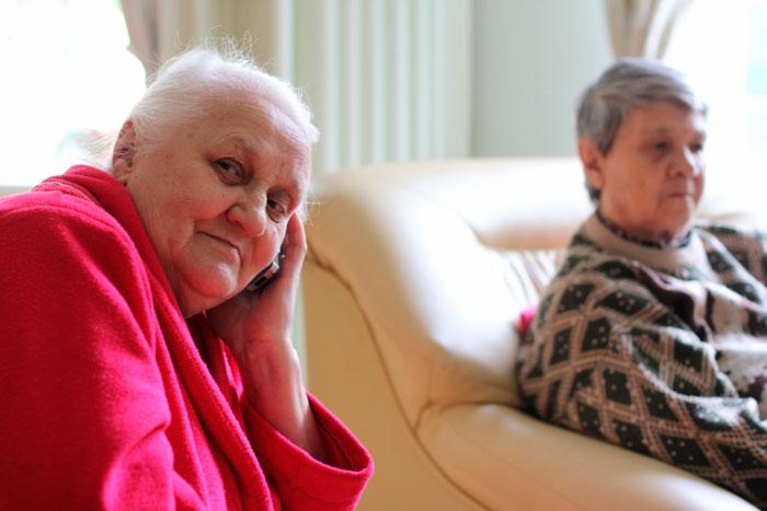 Жильцы Пансионата для пожилых людей «Усадьба Васкелово»