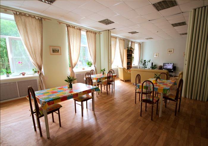 Столовая Пансионата для пожилых людей «Усадьба Васкелово»