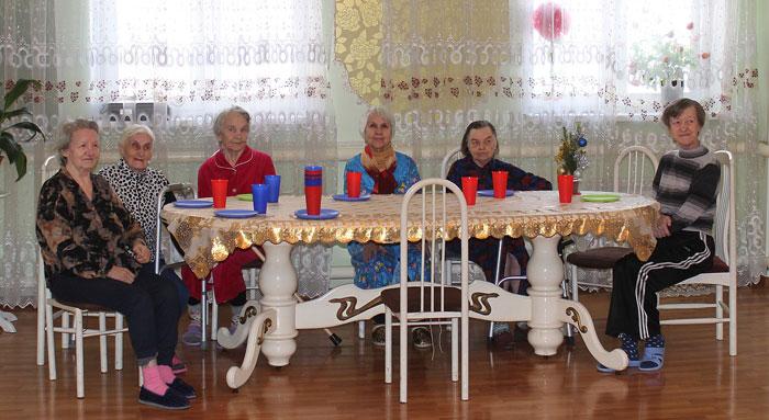 Постояльцы пансионата для престарелых «Анастасия»