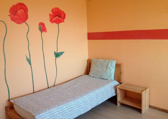 Комната постояльцев дома престарелых «Дом деда»