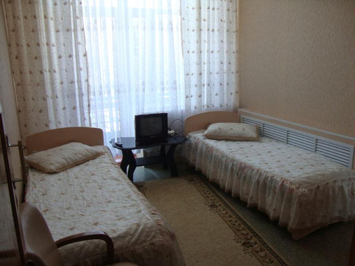 Комната постояльцев пансионата для престарелых и инвалидов «Приозерье»