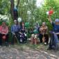 Прогулка жильцов Джидинского дома-интерната для престарелых и инвалидов