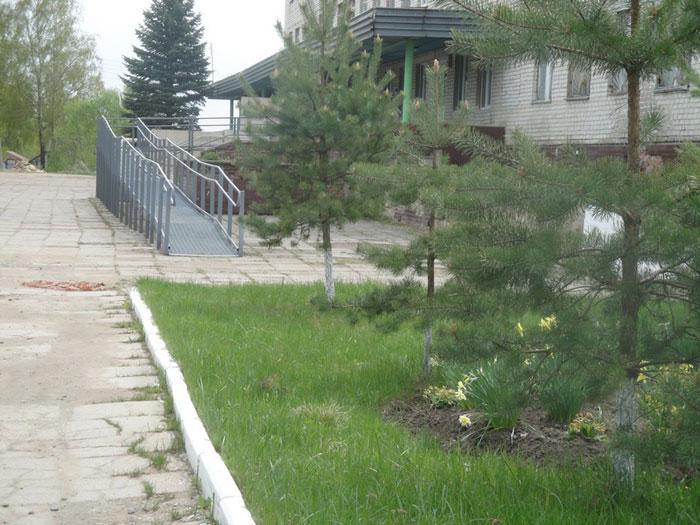 Территория Голынковского дома-интерната для престарелых и инвалидов