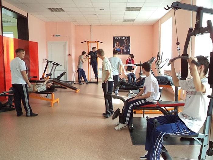 Спортзал Гурьевского психоневрологического интерната