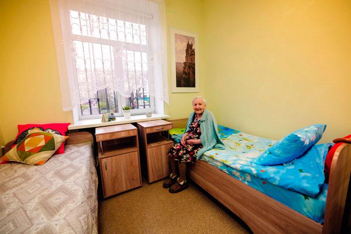 Номер постояльцев Пансионата для пожилых и инвалидов «Многая Лета»
