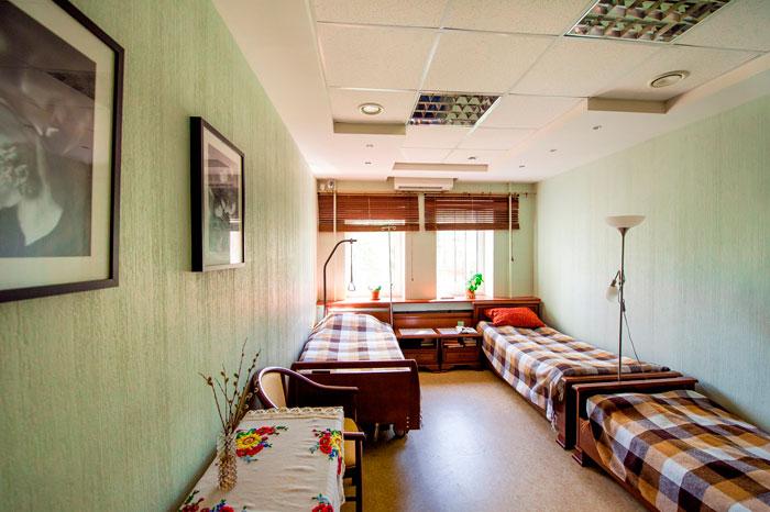Комната постояльцев Пансионата для престарелых «Наша Забота»