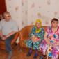 Постояльцы интинского дома-интерната для престарелых и инвалидов
