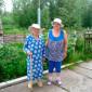 Прогулка жильцов интинского дома-интерната для престарелых и инвалидов