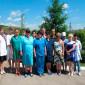 Персонал Исаклинского пансионата милосердия для ветеранов войны
