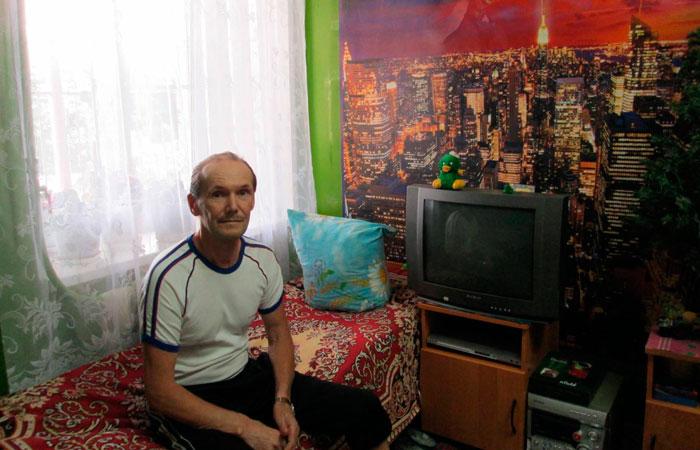 Комната постояльцев Иванчиновского психоневрологического интерната