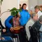 Досуг жильцов Касимовского специального дома-интерната для престарелых