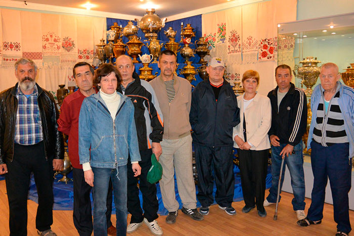 Поход в музей жильцов Касимовского специального дома-интерната для престарелых