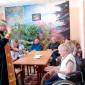 Священник Хвойнинского дома-интерната для престарелых «Песь»