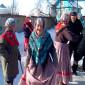 Постояльцы Кологривского дома-интерната для престарелых и инвалидов