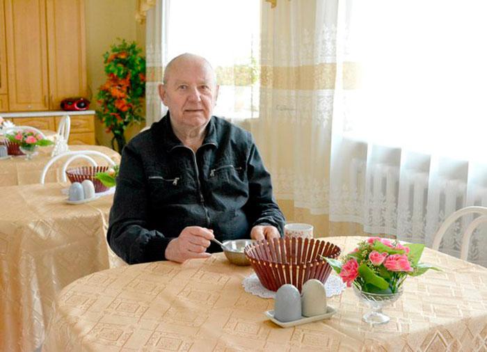 Жильцы Коломенского дома-интерната «Ветеран»