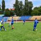 Игра в футбол постояльцев Краснотурьинского психоневрологического интерната