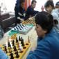 Игра в шахматы жителей Краснотурьинского психоневрологического интерната